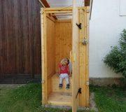 nowato Komposttoilette für den Garten, Gartentoilette