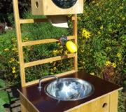 nowato mobiles Handwaschbecken - ohne Wasseranschluss - ohne Abwasseranschluss