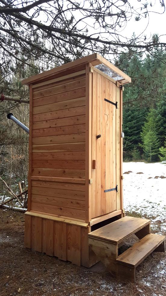 nowato - Komposttoilette Alm mit Biolan Maxi