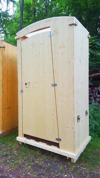 nowato Komposttoilette Heide mit Tragegriffe an den Seiten