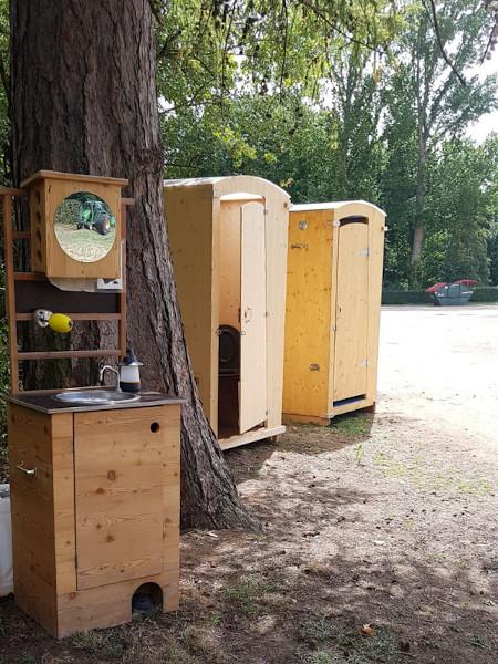 nowato Komposttoilette Heide - Vermietung und Verkauf