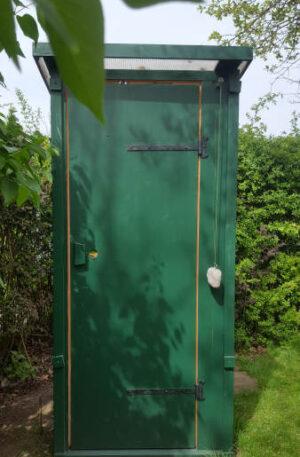 nowato composting toilet - Outdoor toilet for the garden - autonomous sanitation through composting
