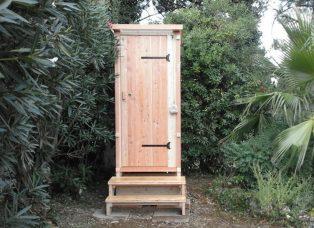 nowato Komposttoilette mit Biolan - Aussenansicht - Toilette ohne Abwasser