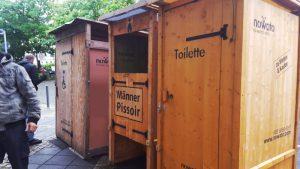 Komposttoiletten Vermietung. Barrierefreie Kompost-Toilette von nowato. Ökologische Biotoilette