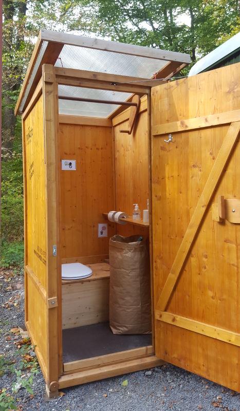 nowato Langzeitvermietung und Service. Komposttoilette Friedwald Dreieckstein
