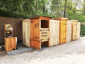 nowato Langzeitvermietung und Service. Komposttoiletten Pissoir und Handwaschbecken