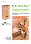 PDF Datei - nowato - Produktblatt Toilette Modell Wiese zum herunterladen