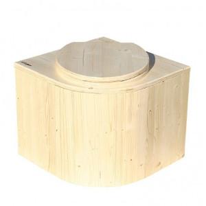 nowato Shop - Produktbild Komposttoilette Das Eckchen unbehandelt