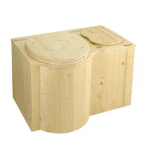 nowato Shop - Produktbild Komposttoilette Der Schmetterling unbehandelt