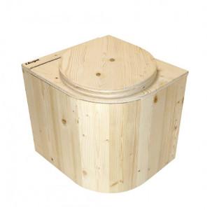 nowato Shop - Produktbild kompakte Komposttoilette Die Libelle unbehandelt