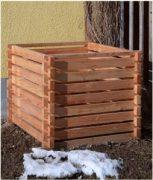 nowato - Klassicher Holzkomposter
