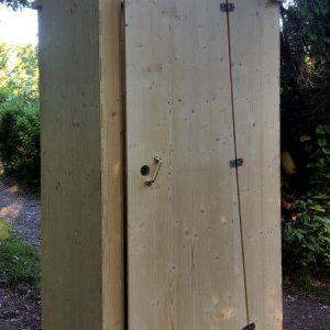 nowato Komposttoilette Heide 80L. Einstreu-Toilette