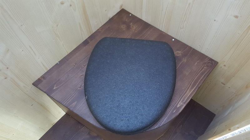 nowato Komposttoilette Modell 'Heide' · Detail Toilettensitz