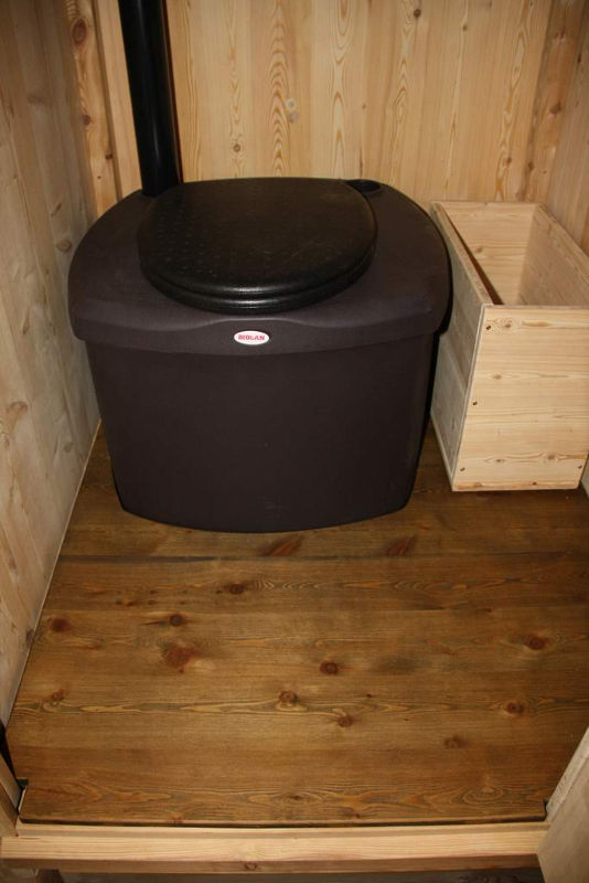 nowato Komposttoilette große Kapazität mit Biolan eco