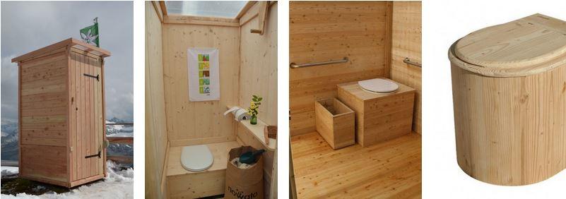 nowato - Fotos von verschiedene Komposttoiletten, barrierefrei, Innenansicht. Toiletten aus Holz, leicht zu reinigen