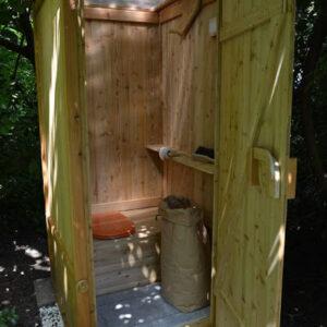 nowato composting toilet WIESE · Garden · autonomous sanitation · Autonome Sanitärtechnik