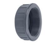 PVC Schraub-Gewindekappe IG 1'' 30,93 mm