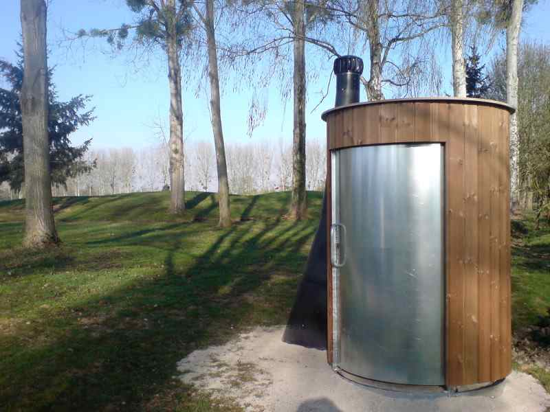 Trockentoilette Kazuba KL2 Standard- abwasserlose Toilette, wasserlose Toilette, ohne Kanalisation