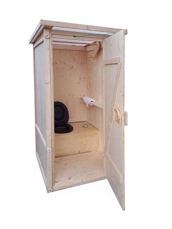 Komposttoilette 'Wiese' aus Fichte ·