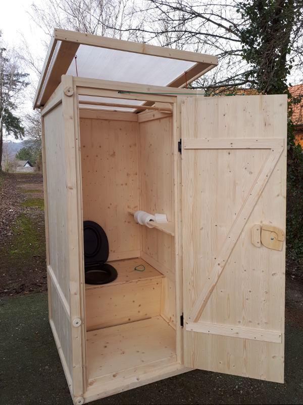 Verkauf online shop Komposttoilette 'Wiese'. Einstreu-Toilette, Toilette für den Garten
